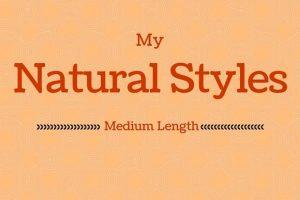 My Medium Length Styles