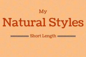 My Short Natural Hair Styles