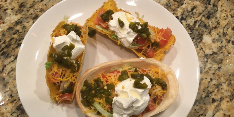 Create A Trio Taco Platter