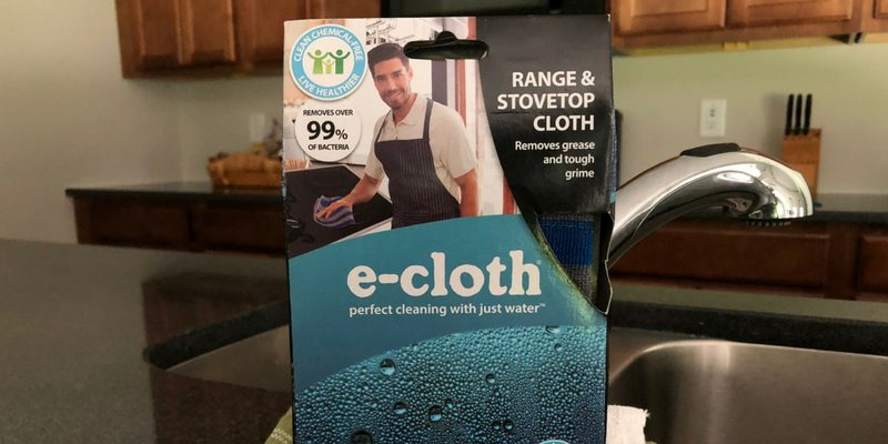 e-cloth for Range & StoveTop Clean