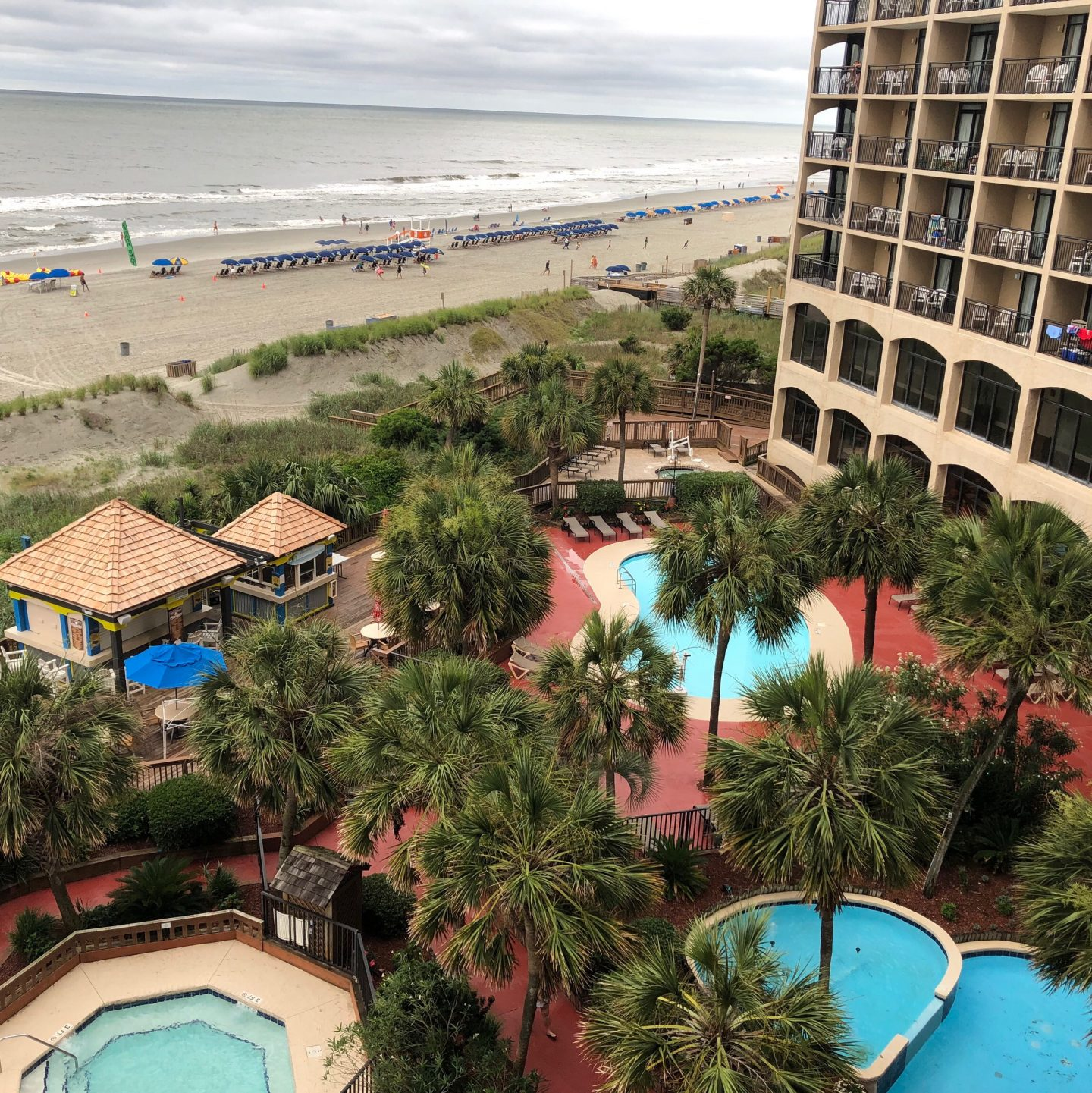 Outdoor Pool Deck North Myrtle Beach